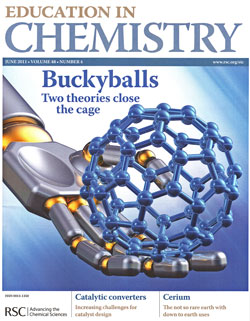 magazine write-up with chemistry