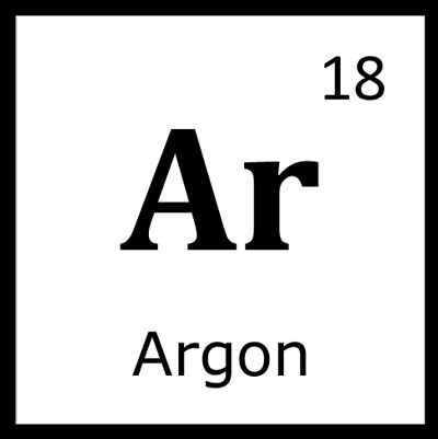 Chemical Symbol For Argon