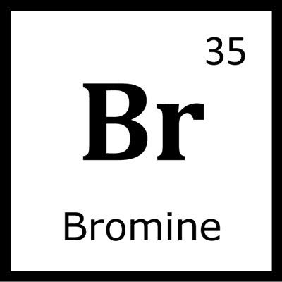 a study on the element bromine Bromine - an element with atomic number 35 and the symbol br bromine found to be essential to human life in a study, published in the.